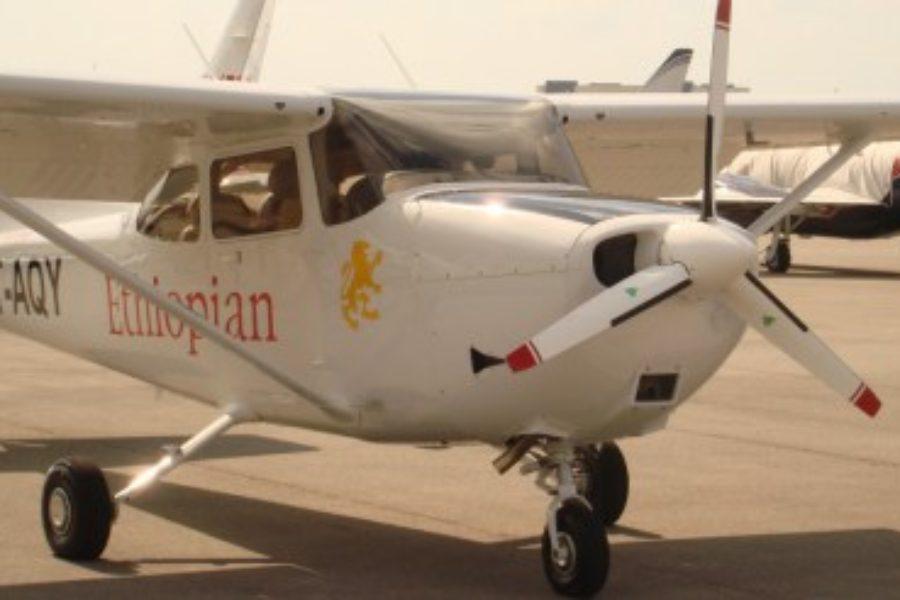 Ethiopian Airlines Cessna 172 Diesel Engine Retrofit