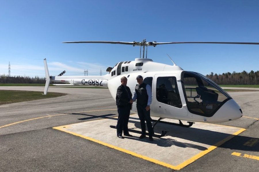 Africair delivers first Bell 505 into Nairobi, Kenya