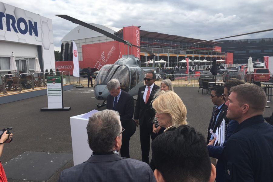 FIA 2018: Africair Signs PA for First Bell 407GXi in Africa