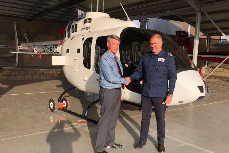 First Bell 505 Delivered into Kenya Arrives