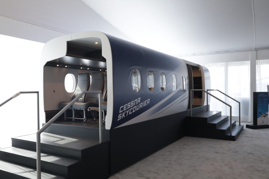 Cessna SkyCourier advances through development; prototype assembly underway