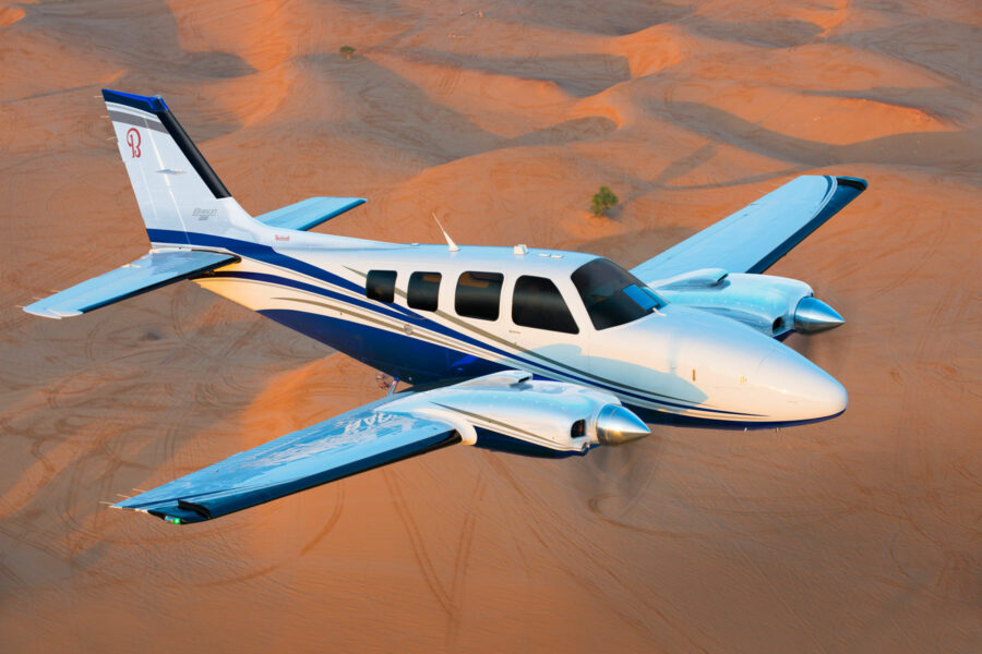 Continued innovation drives Textron Aviation's iconic Beechcraft Baron 58 to 50-year milestone